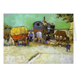 Vincent van Gogh- die Wohnwagen - Sinti und Karte