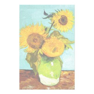 Vincent van Gogh drei Sonnenblumen Briefpapier