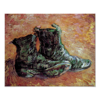Vincent van Gogh - ein Paar Schuhe Poster