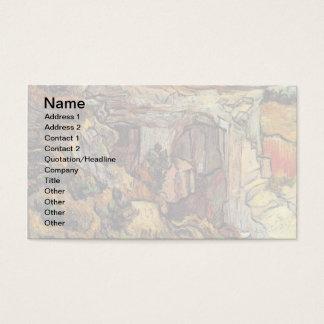 Vincent van Gogh - Eingang zu einer Visitenkarte
