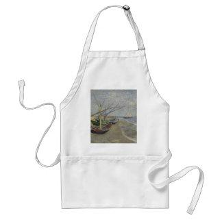 Vincent van Gogh - Fischerboote auf Saintes Maries Schürze
