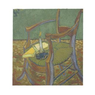 Vincent van Gogh - Gauguins Lehnsesselmalerei Notizblock