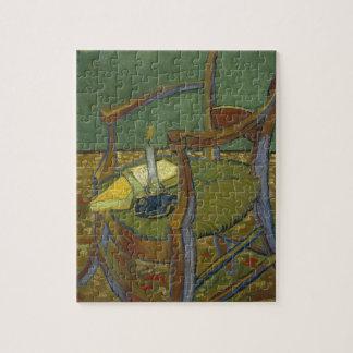 Vincent van Gogh - Gauguins Lehnsesselmalerei Puzzle