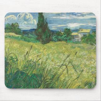 Vincent van Gogh - grünes Feld Mauspads