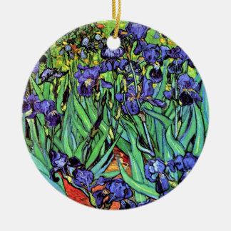 Vincent van Gogh - Iris - Blumen-Liebhaber-feine Keramik Ornament