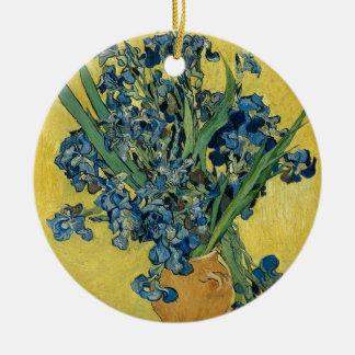 Vincent van Gogh - Iris-Kunstwerk Keramik Ornament