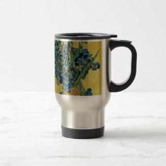 Vincent van Gogh - Iris-Kunstwerk Reisebecher