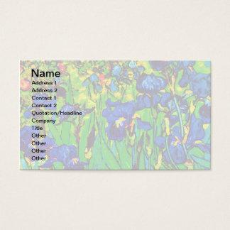 Vincent van Gogh - Iris - Visitenkarte