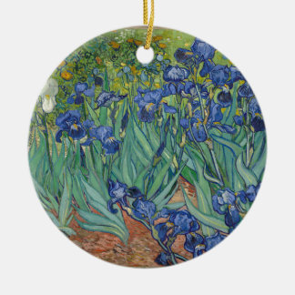 Vincent van Gogh Irises Keramik Ornament