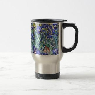 Vincent van Gogh Irises Vintage feine mit Reisebecher