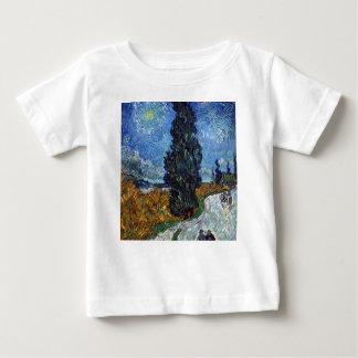Vincent van Gogh-Landstraße in Provence bis zum Baby T-shirt