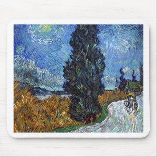 Vincent van Gogh-Landstraße in Provence bis zum Mousepad