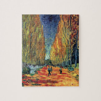Vincent van Gogh - Les Alyscamps Puzzle