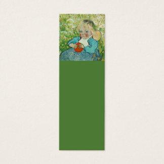 Vincent van Gogh Lesezeichen Mini Visitenkarte