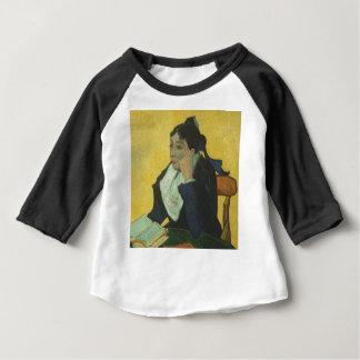Vincent van Gogh - Madame Ginoux mit Büchern Baby T-shirt