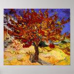 Vincent van Gogh-Maulbeerbaum-Kunst-Malerei Poster