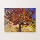 Vincent van Gogh-Maulbeerbaum-Kunst-Malerei Puzzle