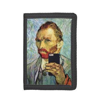 Vincent van Gogh-Mobiltelefon Selfie Selbstporträt