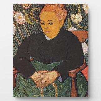 Vincent van Gogh - nette alte Dame Porträt Fotoplatte