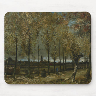 Vincent van Gogh - Pappeln nähern sich Nuenen Mauspads
