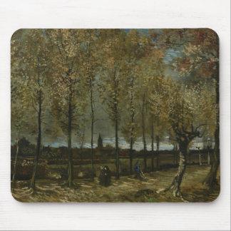 Vincent van Gogh - Pappeln nähern sich Nuenen Mousepad