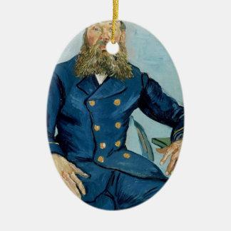 Vincent van Gogh-Porträt des Briefträgers Joseph Keramik Ornament