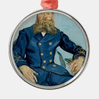 Vincent van Gogh-Porträt des Briefträgers Joseph Silbernes Ornament