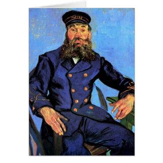 Vincent van Gogh - Porträt des Briefträgers Karte