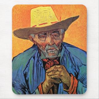 Vincent van Gogh - Porträt von Geduld Escalier Mousepad