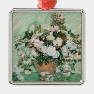 Vincent van Gogh | Rosen, 1890 Silbernes Ornament