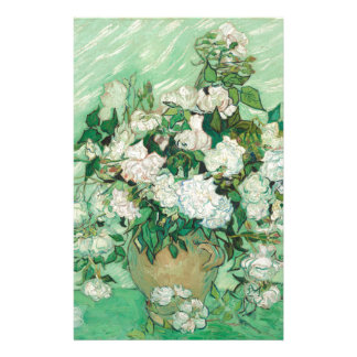 Vincent van Gogh Rosen Briefpapier