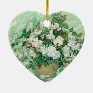 Vincent van Gogh Rosen Keramik Ornament