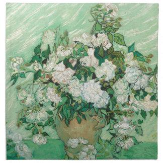 Vincent van Gogh Rosen Stoffserviette