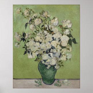 Vincent van Gogh Rosen Vintages BlumenGalleryHD Poster