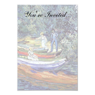 Vincent van Gogh - Ruderboote auf den Banken Oise Karte