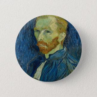 Vincent van Gogh-Selbstporträt-Kunstwerk Runder Button 5,7 Cm