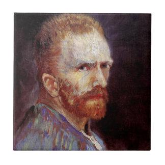 Vincent van Gogh - Selbstporträt-Malerei 1887 Keramikfliese