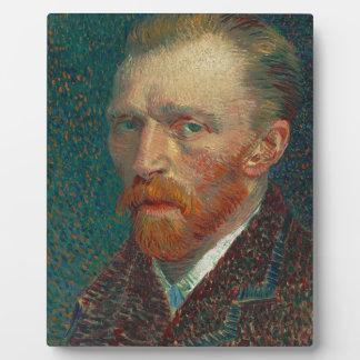 Vincent van Gogh - Selbstporträt-Malerei Fotoplatte