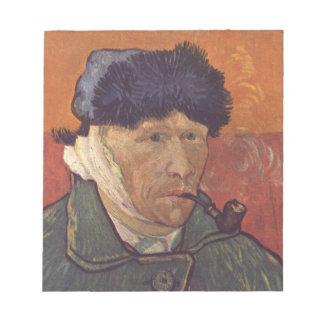 Vincent van Gogh - Selbstporträt mit dem Notizblock