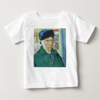 Vincent van Gogh-Selbstporträt mit dem verbundenen Baby T-shirt