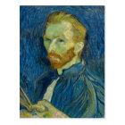 Vincent van Gogh-Selbstporträt Postkarte