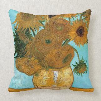 Vincent van Gogh-Sonnenblume Kissen