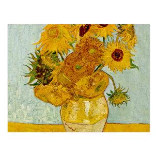 Vincent van Gogh-Sonnenblume-Meisterwerk Postkarte