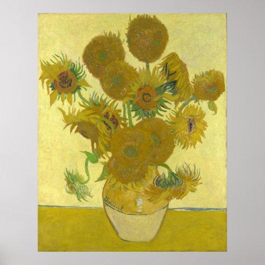 Vincent van Gogh Sonnenblumen 1888 Kunstdruck Poster