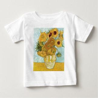 Vincent van Gogh-Sonnenblumen Baby T-shirt