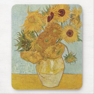 Vincent van Gogh - Sonnenblumen Mauspad