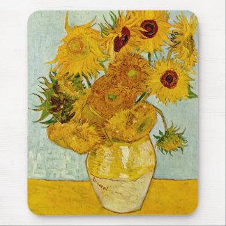 Vincent van Gogh-Sonnenblumen Mauspads
