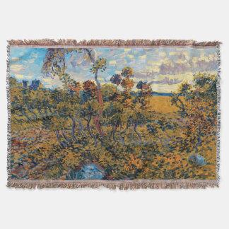 Vincent van Gogh - Sonnenuntergang an Montmajour Decke