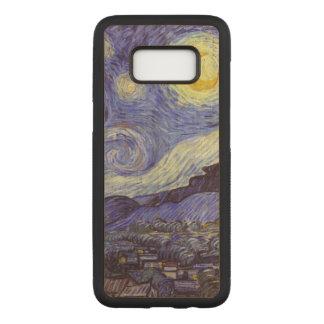 Vincent van Gogh Starry NachtVintage feine Kunst Carved Samsung Galaxy S8 Hülle