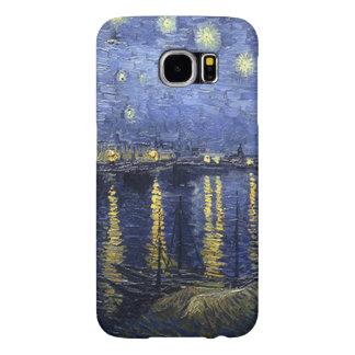 Vincent van Gogh-Sternenklar Night über der Rhône